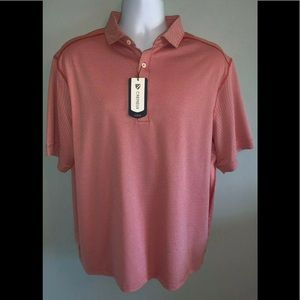 MWT Men's X-Large Cremieux Club 38 SS Polo Red